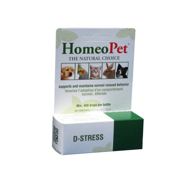 HomeoPet Multi Species D-Stress Anxiety Relief | Pisces Pets