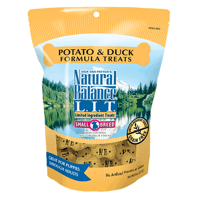 Natural Balance Small Breed Limited Ingredient Treats - Duck & Potato | Pisces Pets