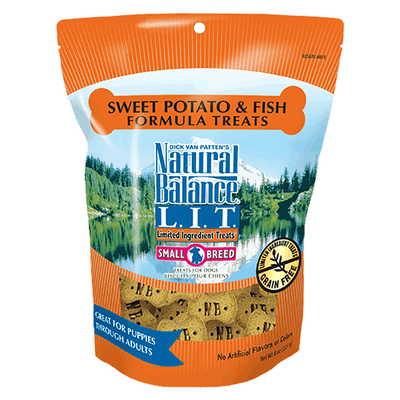 Natural Balance Small Breed Limited Ingredient Treats - Fish & Sweet Potato | Pisces Pets