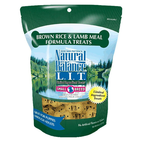 Natural Balance Small Breed Lamb & Brown Rice- 8oz