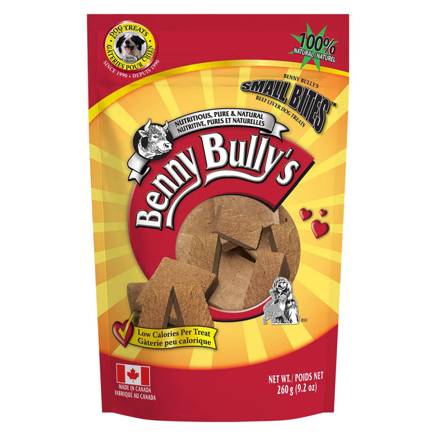 Benny Bullys FD Beef Liver Small Bite 260g