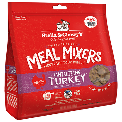 Stella & Chewy's Tantalizing Turkey Meal Mixers | Pisces Pets