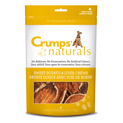 Crumps Sweet Potato & Liver Chews | Pisces Pets