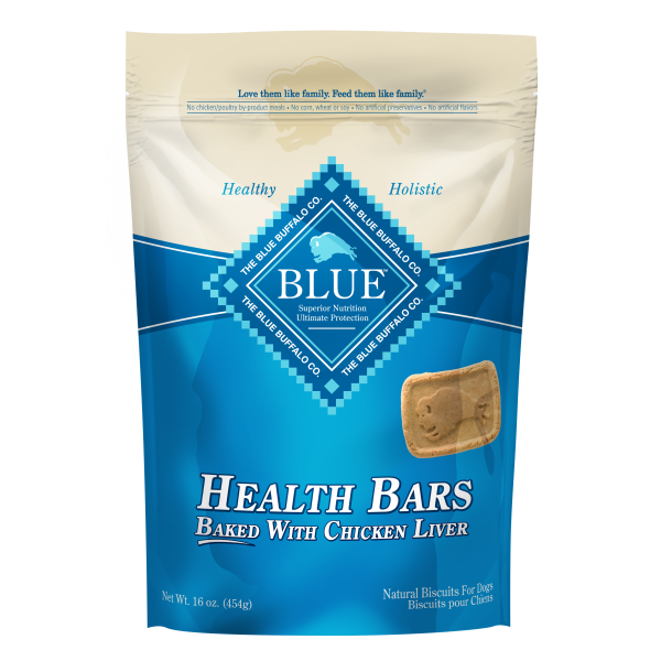 Blue Buffalo Health Bars with Chicken Liver - 453 g | Pisces Pets