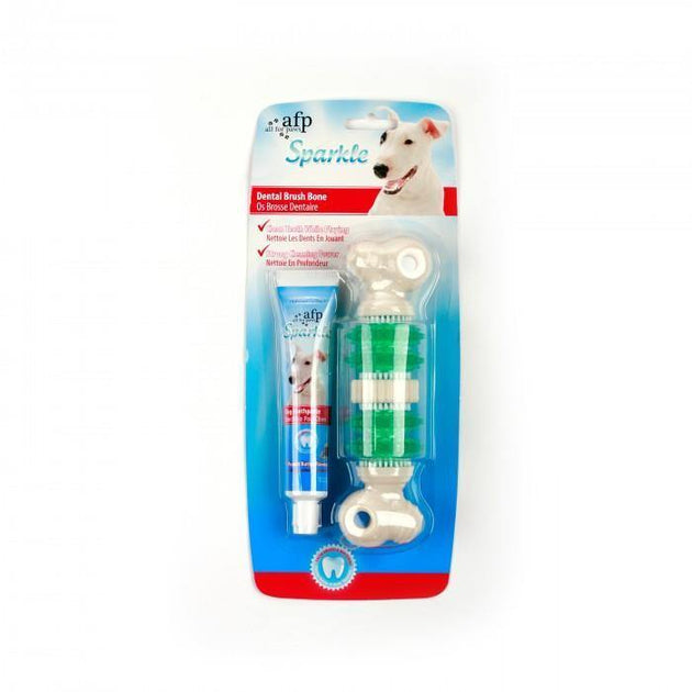 All For Paws Sparkle Dental Brush Bone | Pisces