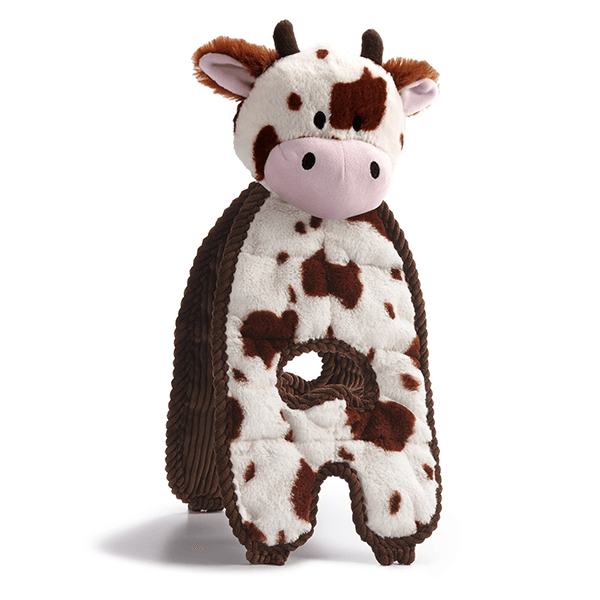 Charming Pet K9 Tuff Cuddle Tug Cow | Pisces Pets
