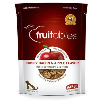 Fruitables Crispy Bacon & Apple - 198 g | Pisces Pets