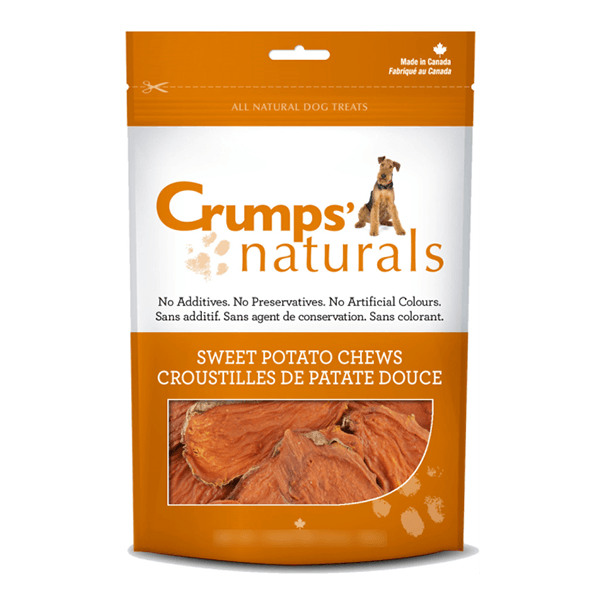 Crumps Sweet Potato Chews | Pisces Pets