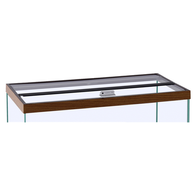 "Marineland Hinged Glass Canopy - 16"" x 10"" 