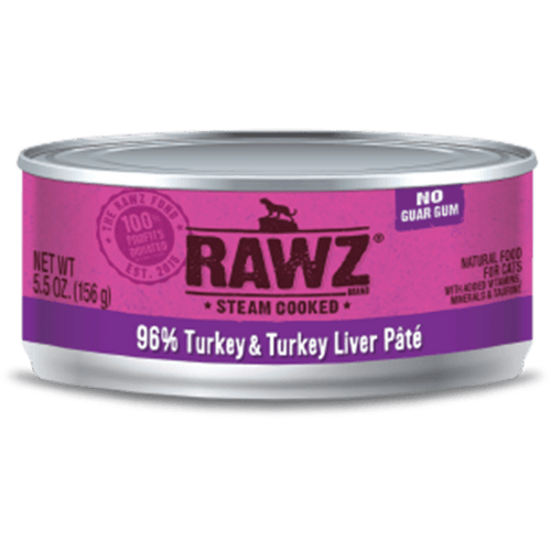 Rawz Cat Turkey 156 g | Pisces Pets