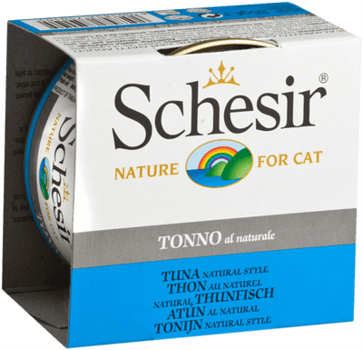 Schesir Adult Cat Natural Tuna 85 g | Pisces Pets