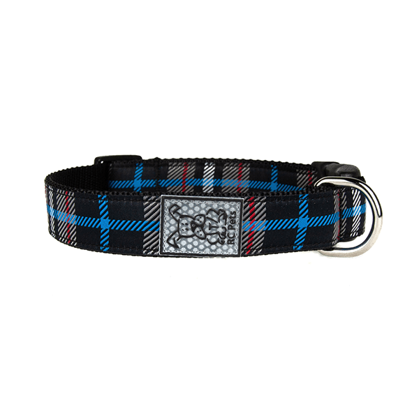 RC Pets Twill Plaid Clip Collar - Available in Multiple Sizes | Pisces Pets