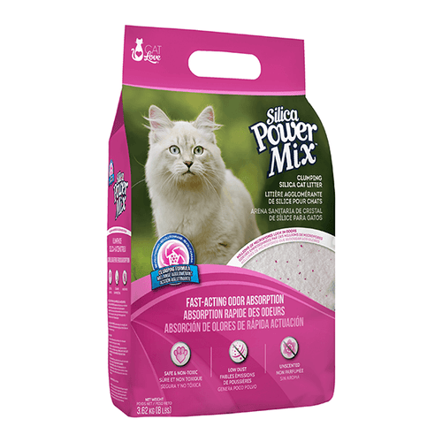 Cat Love Power Mix Clumping Silica Cat Litter - 3.62 kg | Pisces Pets