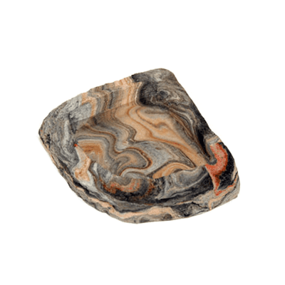 Pet-Tekk Habi-Scape Corner Rock Bowl - Small | Pisces Pets