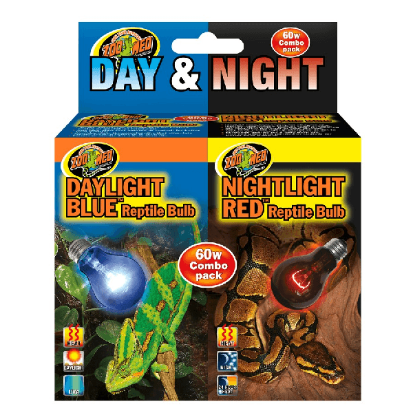 Zoo Med Day & Night Bulb Combo Pack | Pisces Pets