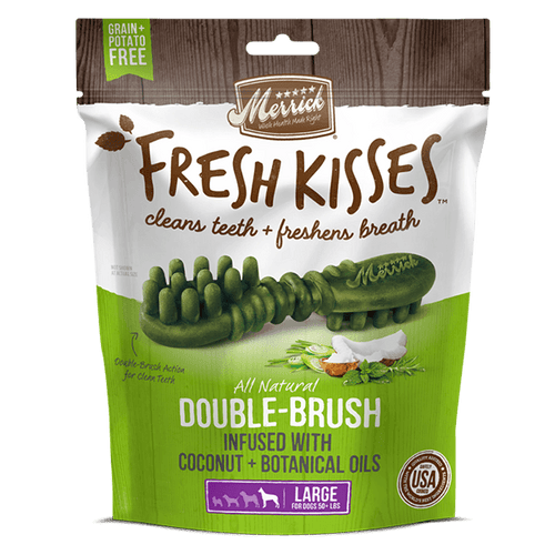 Merrick Fresh Kisses Coconut Oil Large | Pisces Pets