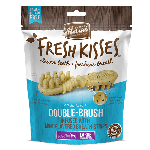 Merrick Fresh Kisses Mint - Large Dogs | Pisces Pets
