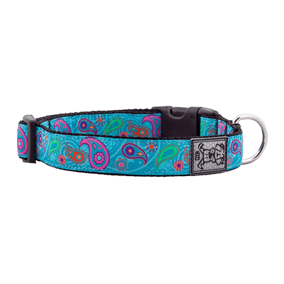 RC Pets Tropical Paisley Clip Collar - Available in Multiple Sizes | Pisces Pets