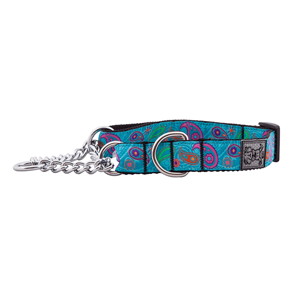 RC Pets Tropical Paisley Training Collar - Available in Multiple Sizes | Pisces Pets