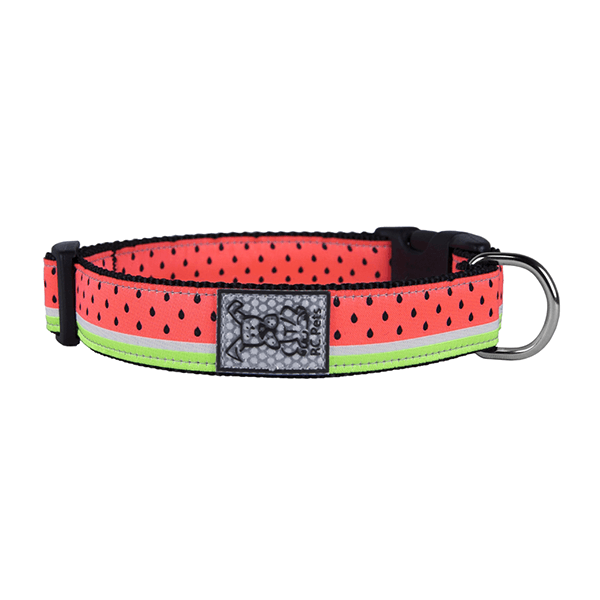 RC Pets Watermelon Clip Collar - Available in Multiple Sizes | Pisces Pets