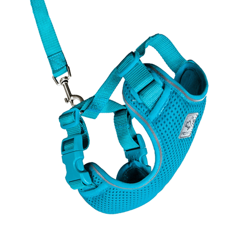 RC Pets Teal Adventure Kitty Harness - Available in 3 Sizes | Pisces Pets
