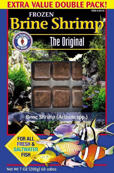 SFB Brine Shrimp Cube Value Pack 7oz