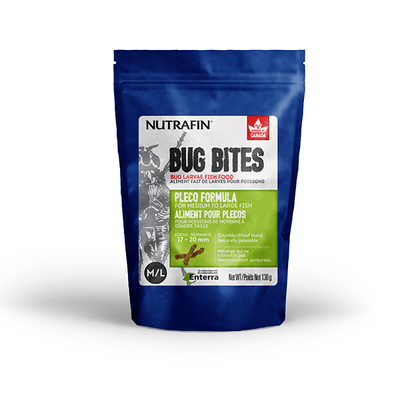 Nutrafin Bug Bites Bottom Feeder Food | Pisces Pets
