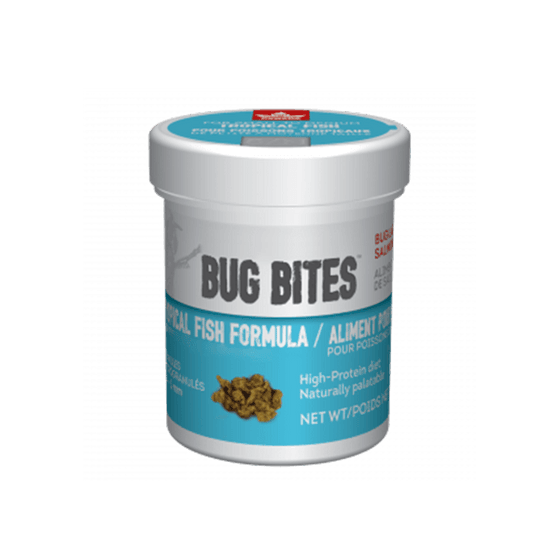 Nutrafin Bug Bites Tropical Fish Food | Pisces Pets