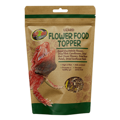 Zoo Med Lizard Flower Food Topper | Pisces Pets