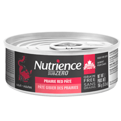 Nutrience Cat SubZero Prairie Red Pate 156 g | Pisces Pets