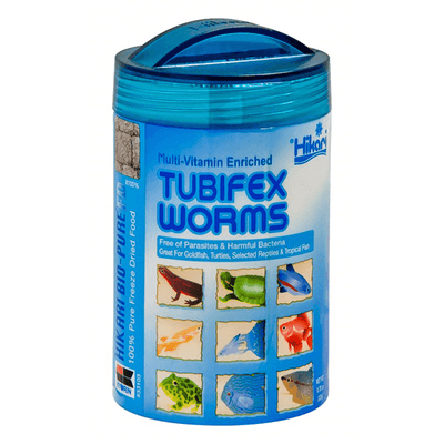 Hikari Bio-Pure Freeze Dried Tubifex Worms | Pisces Pets