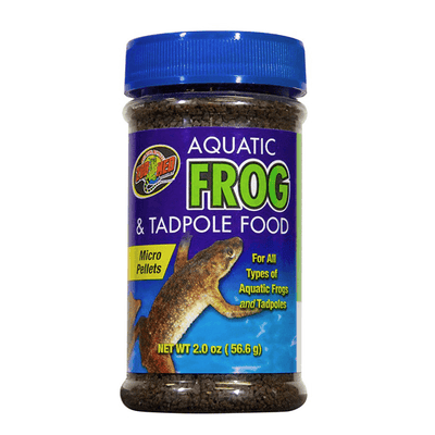 Zoo Med Aquatic Frog & Tadpole Food | Pisces Pets