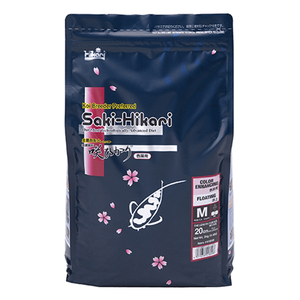 Hikari Saki Color Enhancing Floating Pellet Medium 2 Kg | Pisces Pets