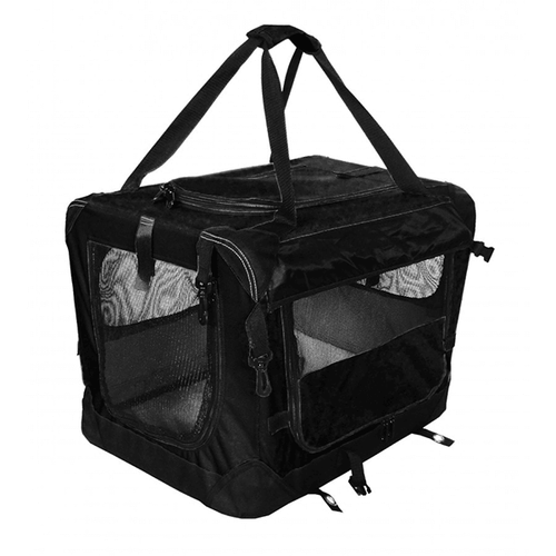 Tuff Crate Black Deluxe Soft Crate - Available in 4 Sizes | Pisces Pets