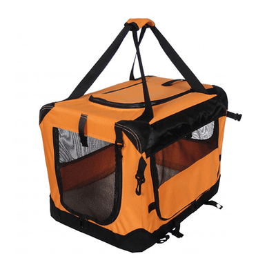 Tuff Crate Orange Deluxe Soft Crate - Available in 4 Sizes | Pisces Pets