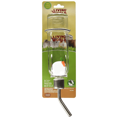 Living World Eco+ Water Bottle - Available in 3 Sizes | Pisces Pets