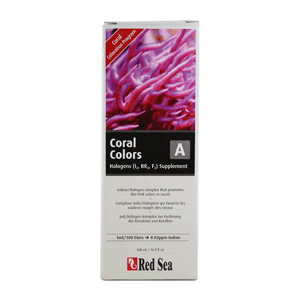 Red Sea Coral Colors A Halogens Supplement | Pisces Pets