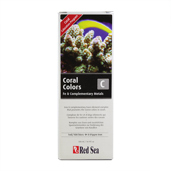Red Sea Coral Colors Fe & Complementary Metals | Pisces Pets