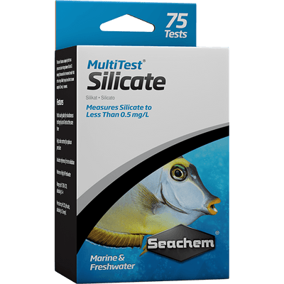 Seachem Multi Test Silicate - 75 Tests | Pisces Pets