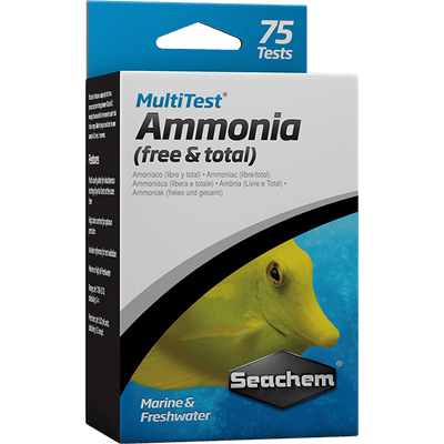 Seachem Multi Test Ammonia - 75 Tests | Pisces Pets