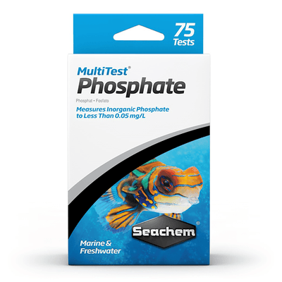Seachem Multi Test Phosphate - 75 Tests | Pisces Pets