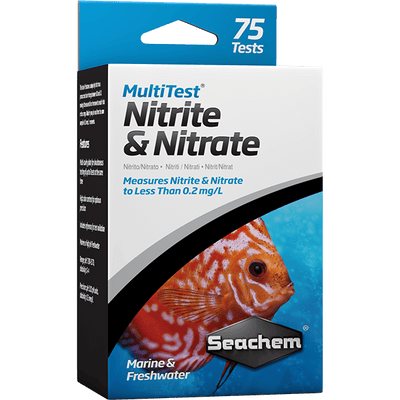 Seachem Multi Test Nitrite & Nitrate - 75 Tests | Pisces Pets