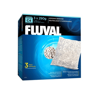 Fluval C4 Ammonia Remover - 3 Pack | Pisces Pets