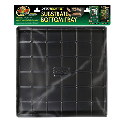 "Zoo Med ReptiBreeze Substrate Bottom Tray - 18""x18""x2"" 