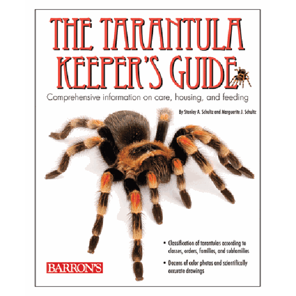 Barron's The Tarantula Keeper's Guide | Pisces Pets