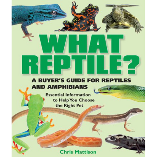 Barron's What Reptile? | Pisces Pets