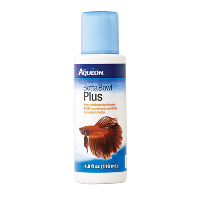 Aqueon Betta Bowl Plus Water Conditioner | Pisces Pets