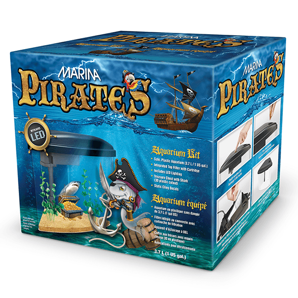 Marina Pirates Aquarium Kit | Pisces Pets