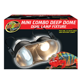 Zoo Med Combo Deep Dome Dual Lamp Fixture | Pisces Pets
