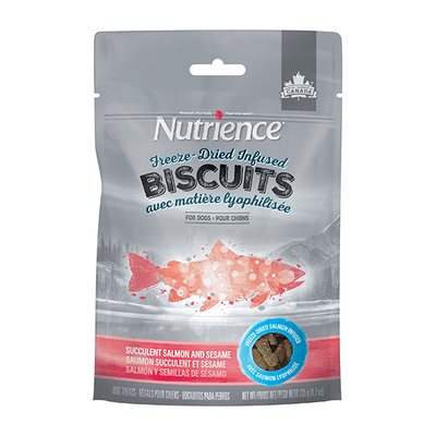 Nutrience Freeze-Dried Biscuits Salmon & Sesame | Pisces Pets